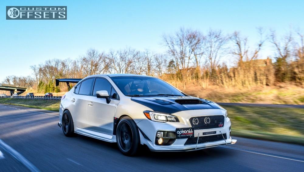 Wheel Offset 2016 Subaru Wrx Sti Poke Stock Custom Offsets