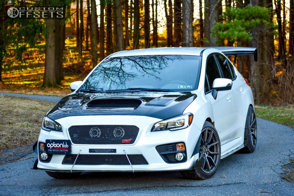 Wheel Offset 2016 Subaru Wrx Sti Poke Stock Custom Offsets