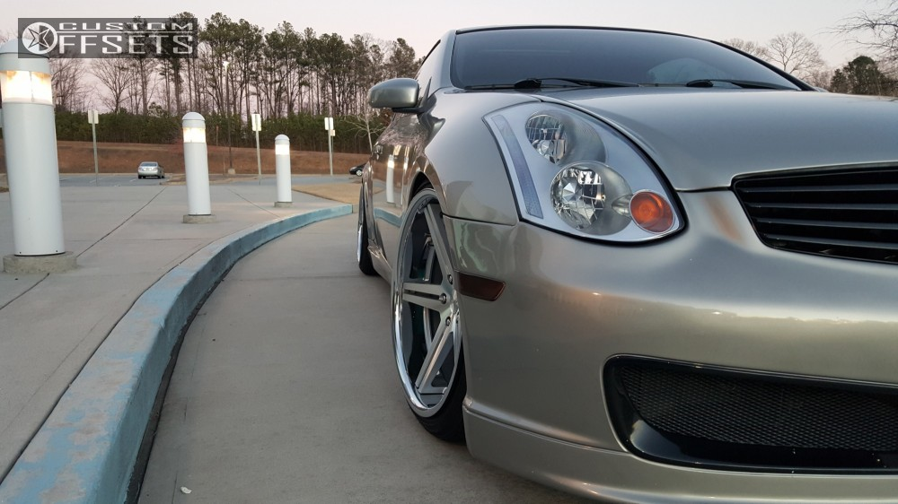 2004 infiniti g35 tsw mirabeau bc racing coilovers. Black Bedroom Furniture Sets. Home Design Ideas