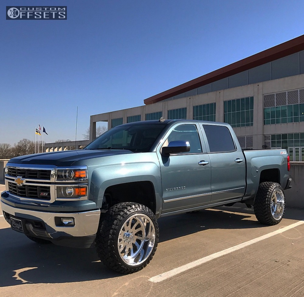 2014 chevrolet silverado 1500 american force octane ss6 rough country suspension lift 5in. Black Bedroom Furniture Sets. Home Design Ideas