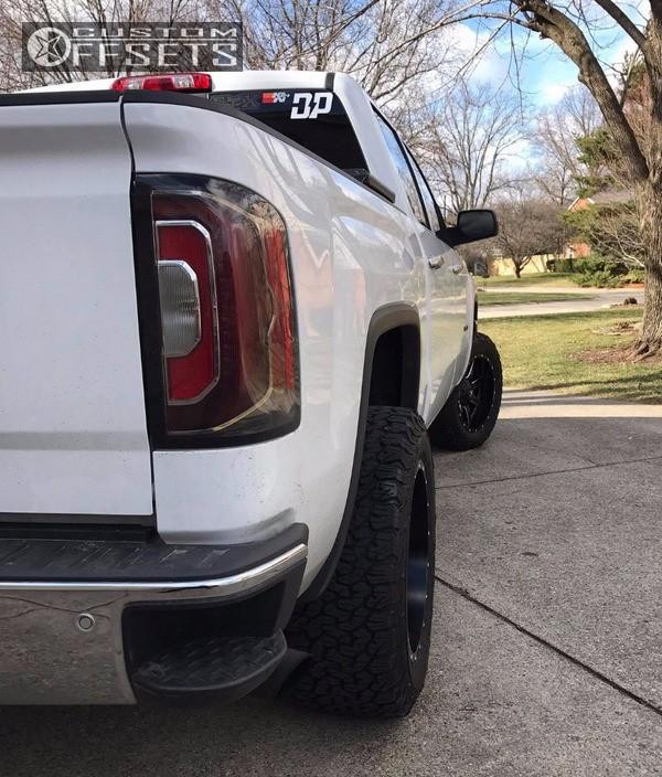 2009 Dodge Ram 2500 Fuel Maverick D538 Fabtech Suspension: 2016 Gmc Sierra 1500 Fuel Maverick D538 Rough Country