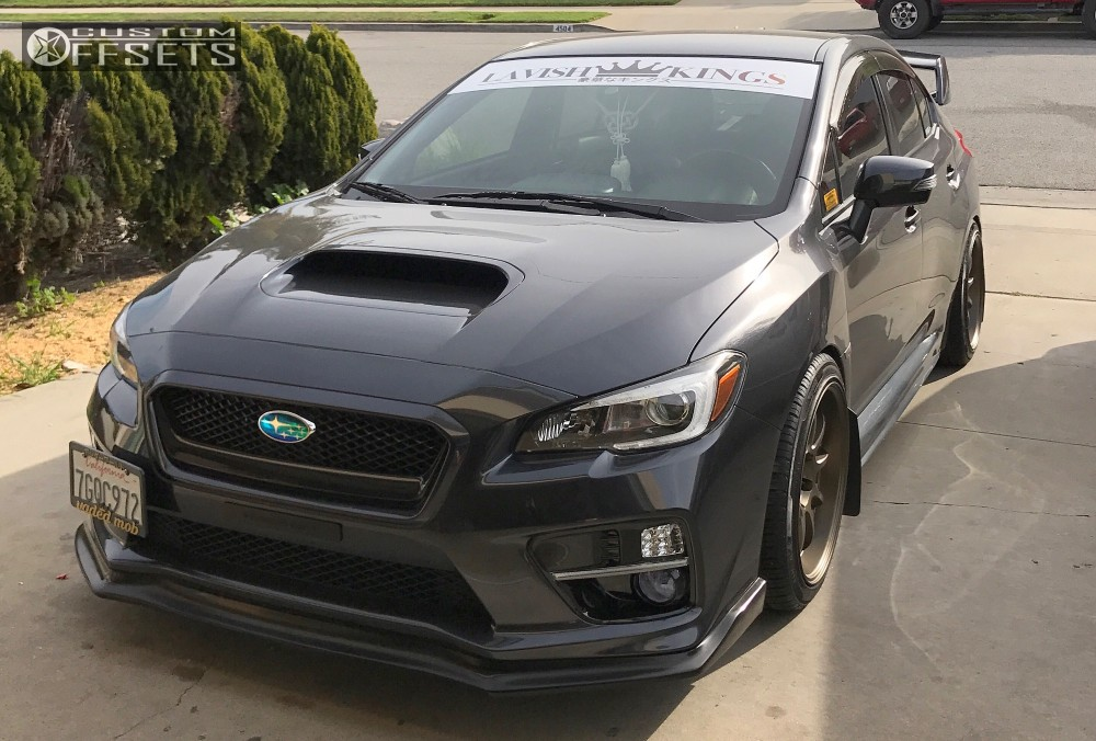 2015 subaru wrx sti work d9r tein coilovers. Black Bedroom Furniture Sets. Home Design Ideas