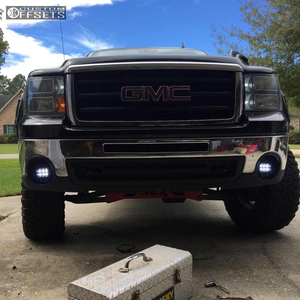 2009 Dodge Ram 2500 Fuel Maverick D538 Fabtech Suspension: 2009 Gmc Sierra 1500 Fuel Maverick D538 Rough Country