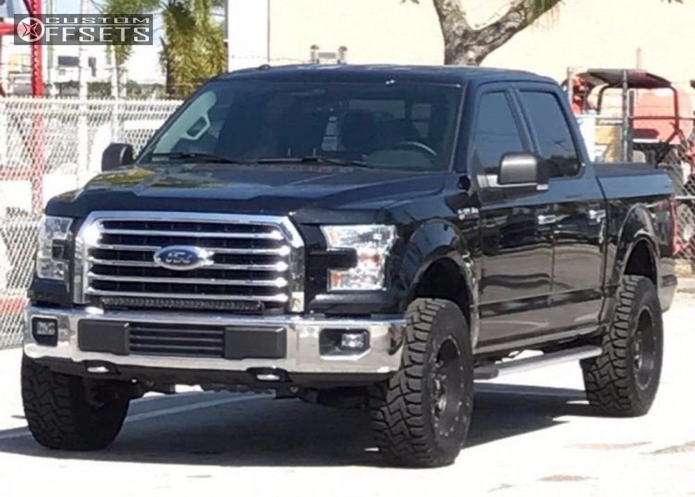 Wheel Offset 2016 Ford F 150 Aggressive 1 Outside Fender