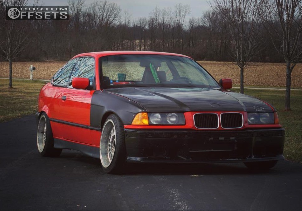 1992 Bmw 325is Bbs Super Rs Bc Racing Coilovers | Custom Offsets