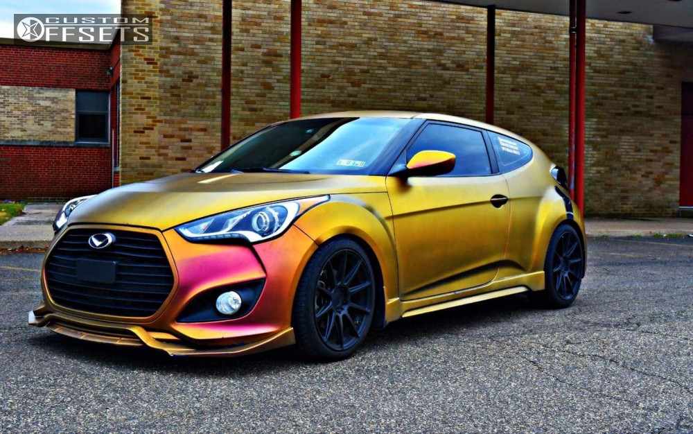 2014 Hyundai Veloster Niche Essen K Sport Coilovers
