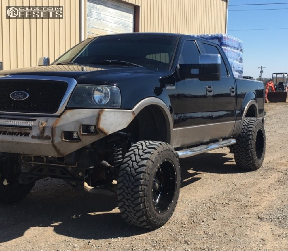 2005 Ford F 150 Moto Metal 962 Rough Country Suspension