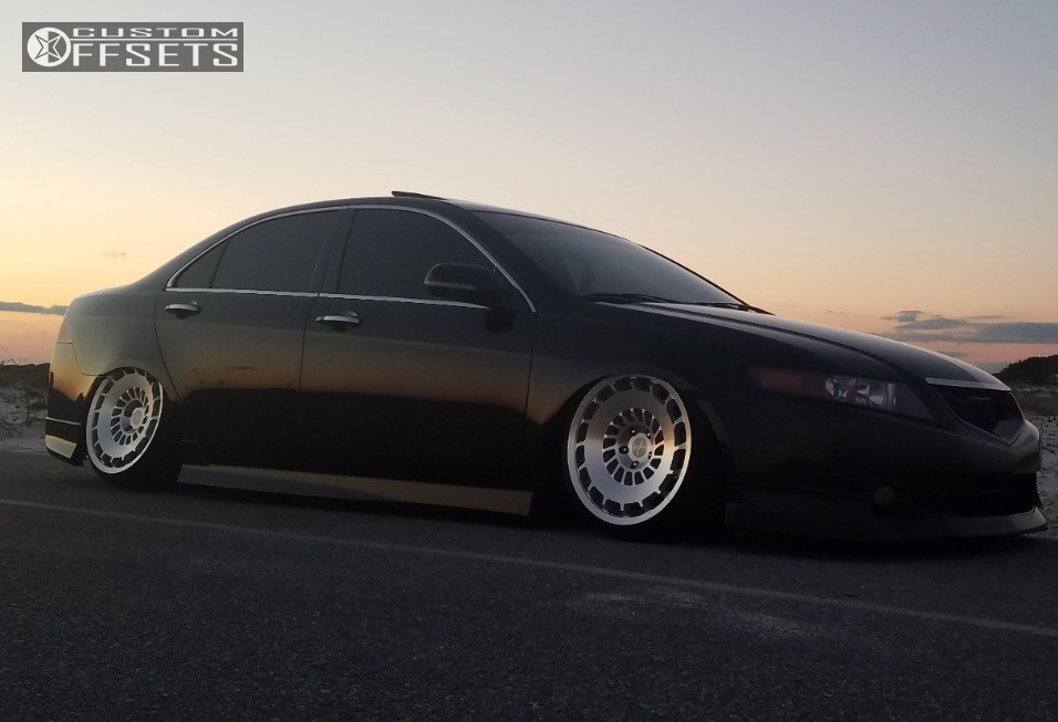 Wheel Offset 2004 Acura Tsx Tucked Bagged