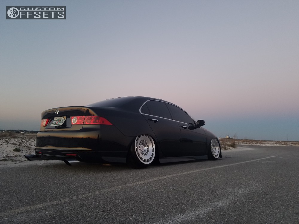 2004 acura tsx rotiform ccv airforce bagged. Black Bedroom Furniture Sets. Home Design Ideas