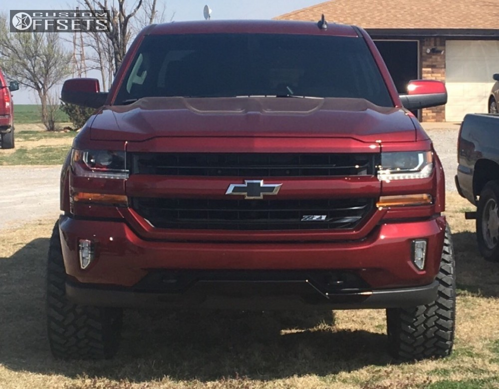 wheel offset 2017 chevrolet silverado 1500 super aggressive 3 5 suspension lift 35. Black Bedroom Furniture Sets. Home Design Ideas