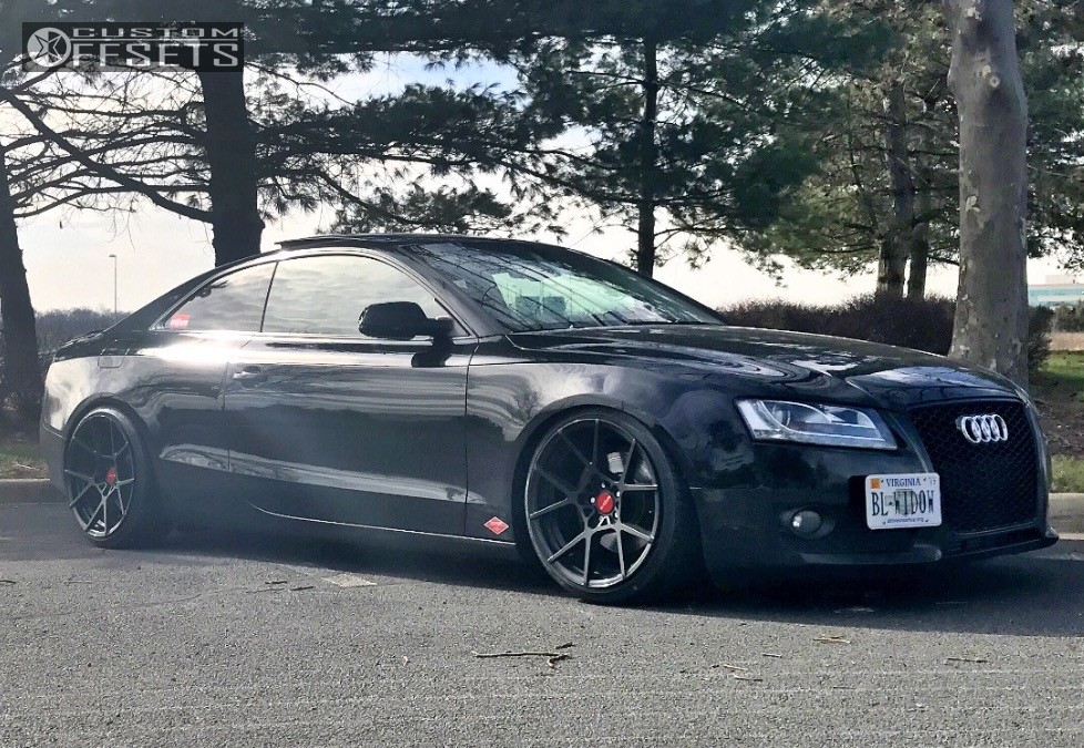 2012 Audi A5 Quattro Rotiform Kps Solowerks Coilovers