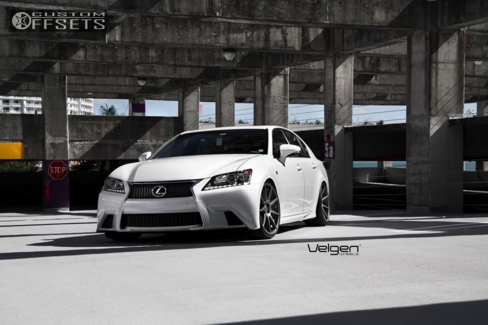 wheel offset 2013 lexus gs350 flush lowered adj coil overs custom rims offsets garage