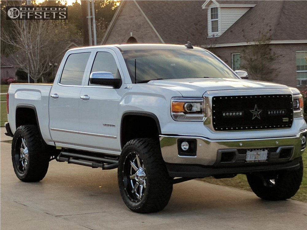 2015 gmc sierra 1500 fuel maverick d260 zone suspension - 2015 gmc sierra interior accessories ...