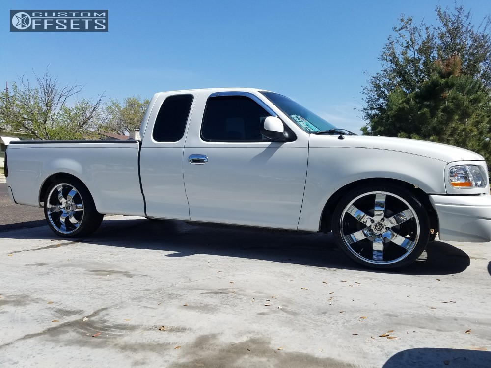 F150 Drop Spindles : Ford f pinnacle forte belltech lowered r tire w