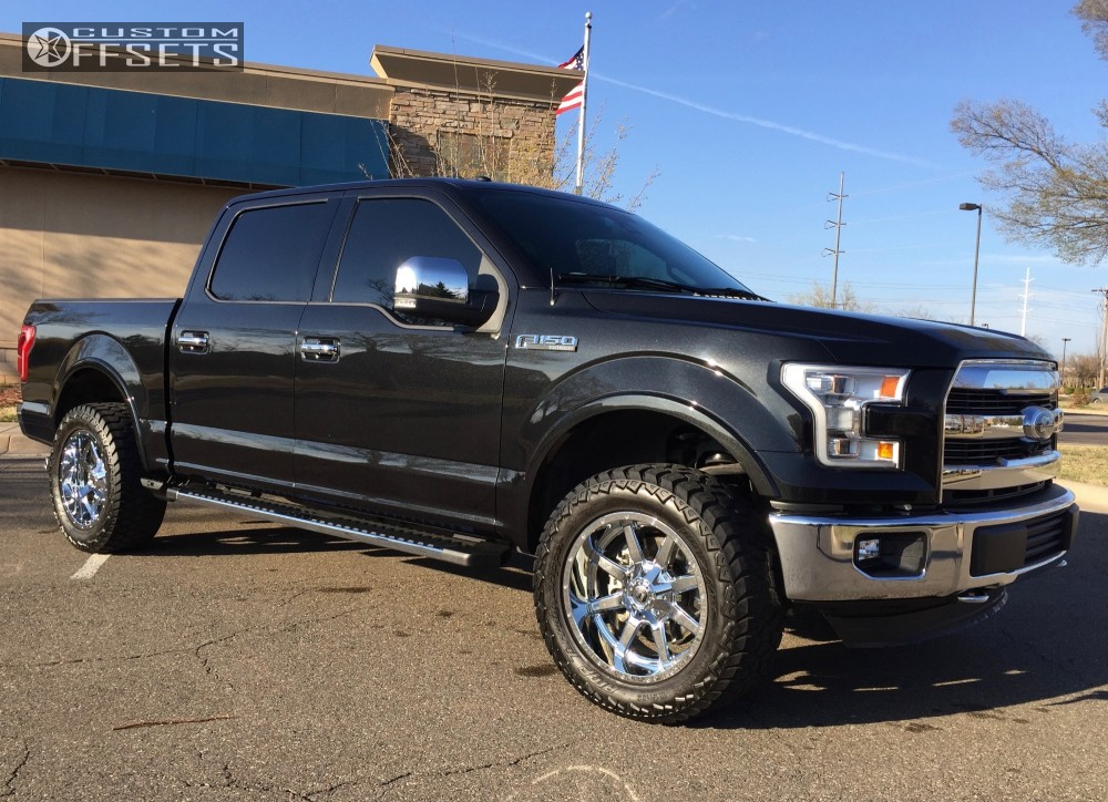 2015 Ford F 150 Fuel Maverick Rough Country Leveling Kit