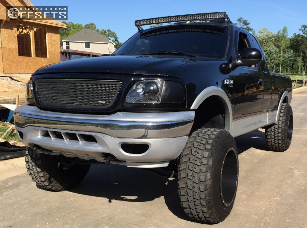 wheel offset 2001 ford f 150 hella stance 5 suspension. Black Bedroom Furniture Sets. Home Design Ideas