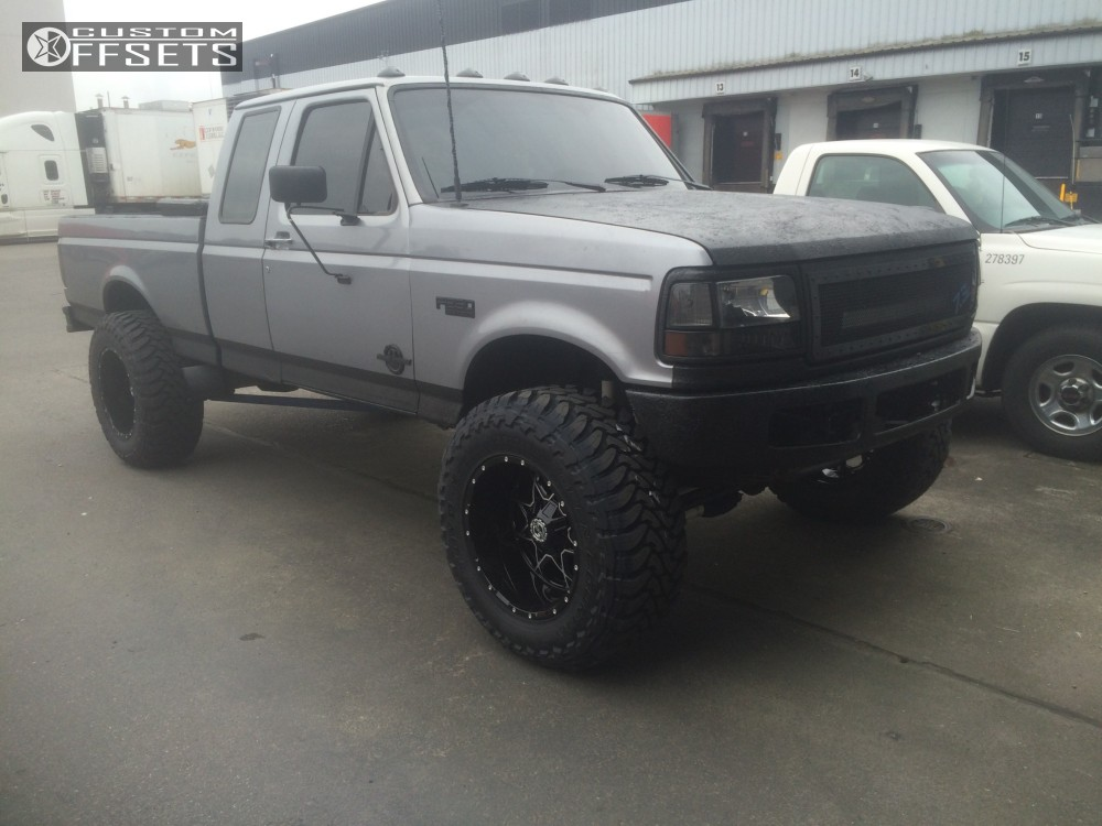 1 1997 F 250 Ford Suspension Lift 25 Scorpion Sc10 Black Hella Stance 5