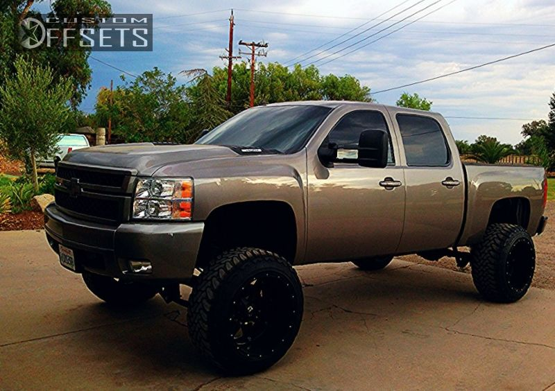 2008 Chevy Silverado Lifted >> 2008 Chevrolet Silverado 1500 Fuel Hostage Suspension Lift 75in