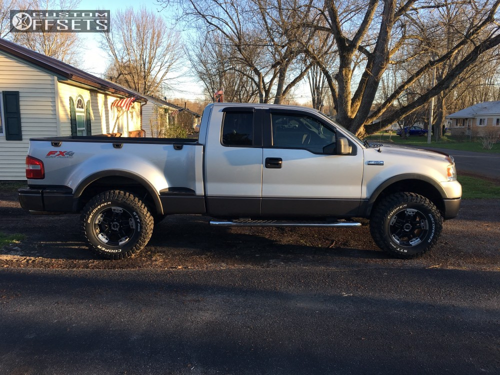 12 2006 F 150 Ford Leveling Kit Vision Warlord Black Aggressive 1 Outside Fender