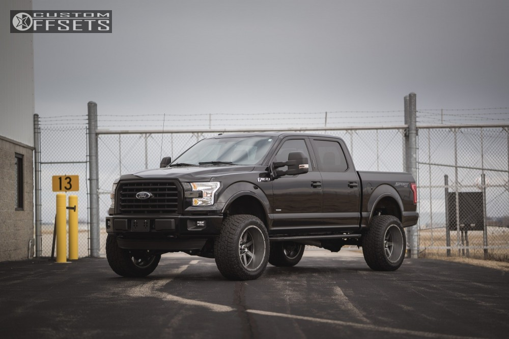 1 2016 F 150 Ford Suspension Lift 6 Sota Awol Anthracite Super Aggressive 3 5