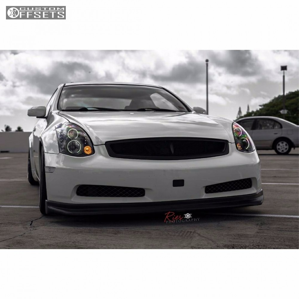 2003 infiniti g35 ambit re02 bc racing coilovers 5 2003 g35 infiniti coilovers ambit re02 gunmetal nearly flush vanachro Choice Image
