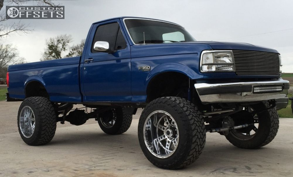 1996 Ford F 350 Xd Diesel Fabtech Suspension Lift 8in Custom Offsets