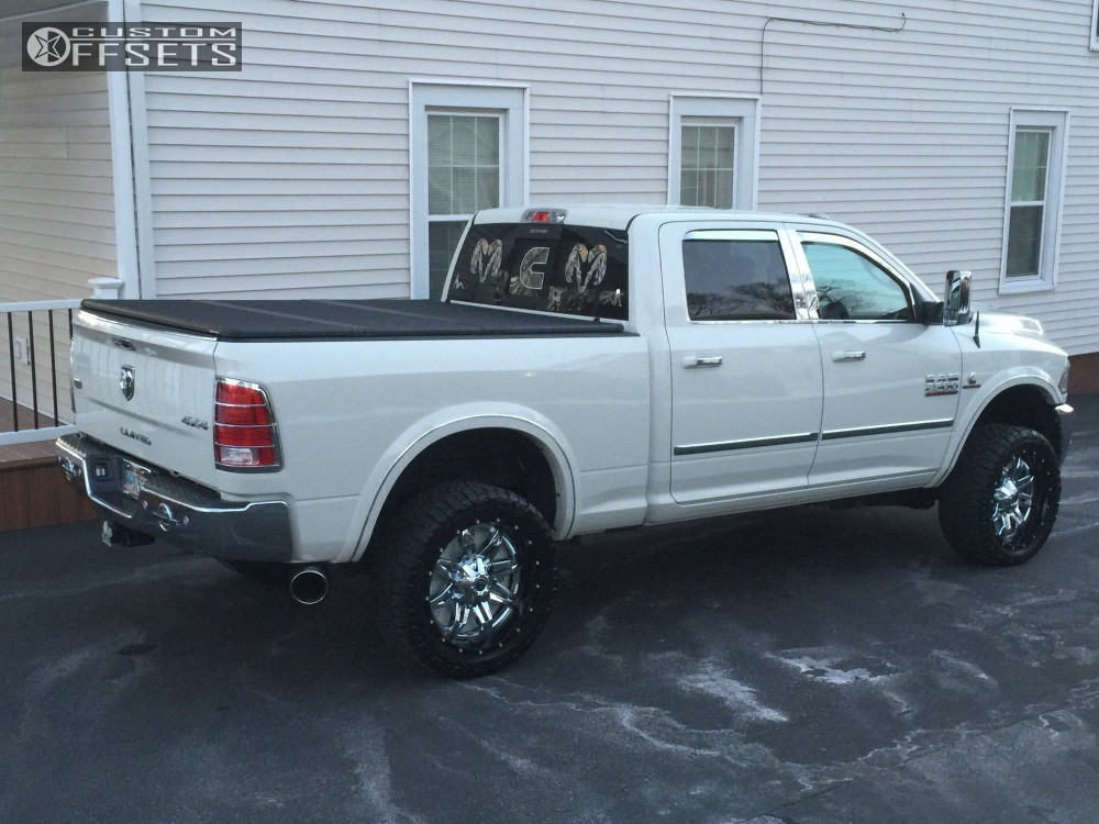 2016 Ram 2500 Fuel Lethal Tuff Country Leveling Kit