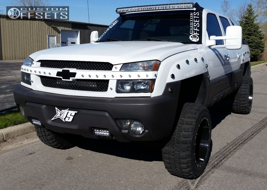 1 2003 Avalanche 1500 Chevrolet Suspension Lift 6 Tis 535mb Machined Accents Super Aggressive 3 5