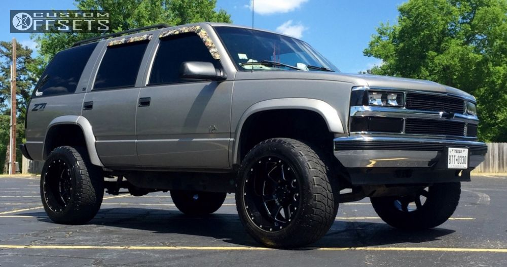 Wheel Offset 1999 Chevrolet Tahoe Super Aggressive 3 5
