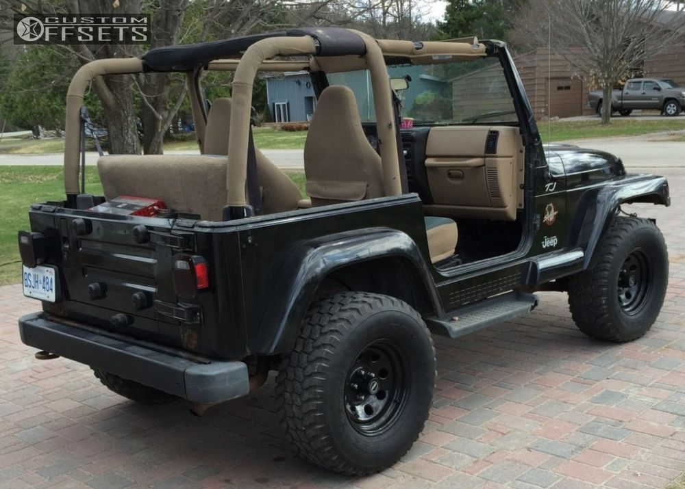 Jeep Tj 2.5 Inch Lift >> 2002 Jeep Tj Pro Comp Series 97 Rough Country Suspension Lift 3in
