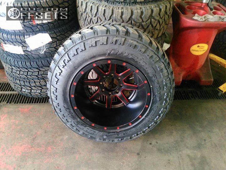 8 2012 Ram 2500 Dodge Suspension Lift 7 Fuel Maverick Custom Hella Stance 5