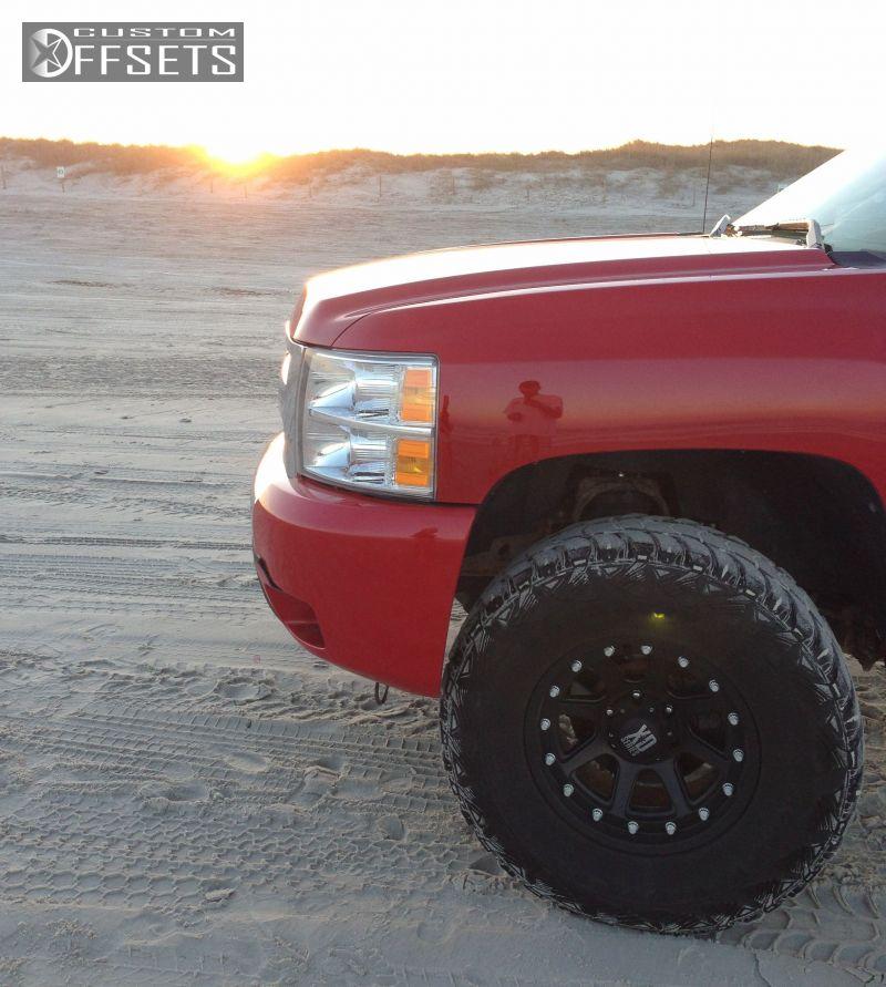 2002 Chevrolet Silverado 3500 Crew Cab Suspension: 2009 Chevrolet Silverado 1500 Xd Addict Suspension Lift 3in