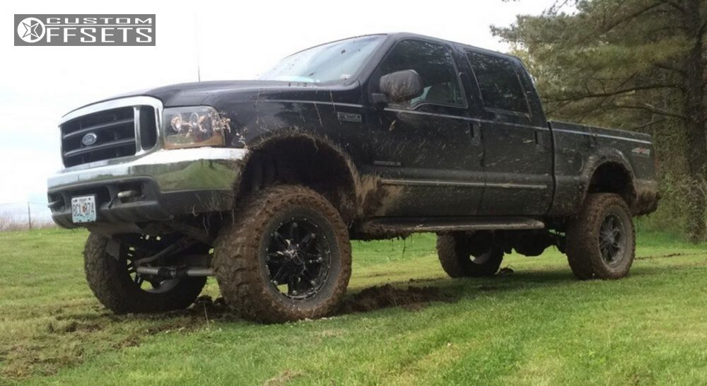 1 1999 F 250 Super Duty Ford Suspension Lift 6 Fuel Hostage Black Nearly Flush