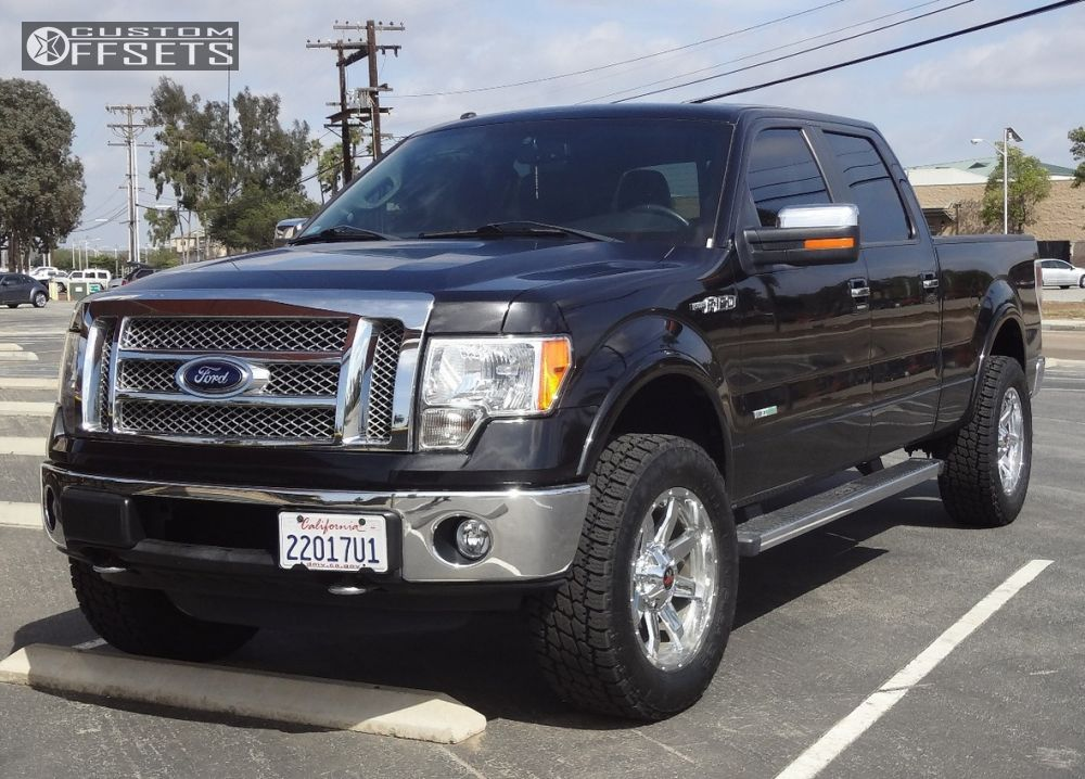F150 Platinum With Leveling Kit >> 2012 Ford F 150 Off Road Monster M08 Tuff Country Leveling Kit