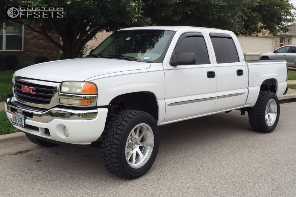 1 2005 Sierra 1500 Gmc Suspension Lift 6 Method The Standard Machined Accents Aggressive 1 Outside Fender