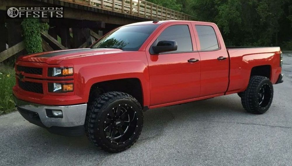 2014 Chevrolet Silverado 1500 Moto Metal Mo962 Rough Country