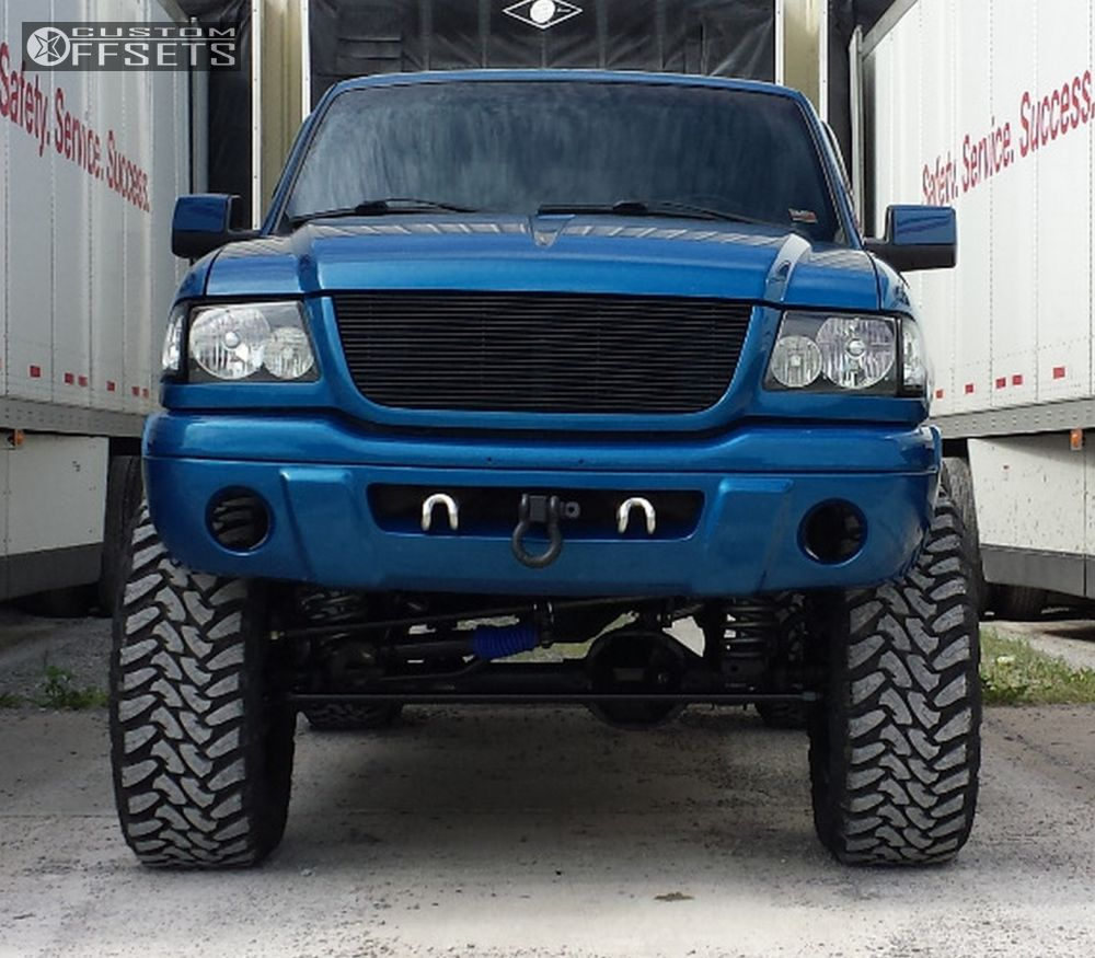 Ford Ranger Fuel Maverick Custom Suspension Lift In - 2001 ranger