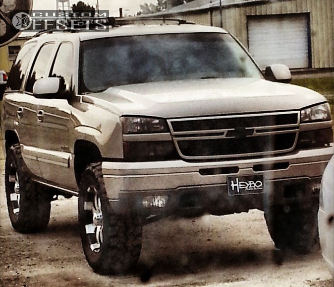 3 2001 Tahoe Chevrolet Leveling Kit Ultra Mako Machined Accents Slightly Aggressive