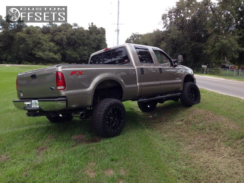 2 2006 F 250 Super Duty Ford Suspension Lift 6 Gear 726 Machined Accents Super Aggressive 3