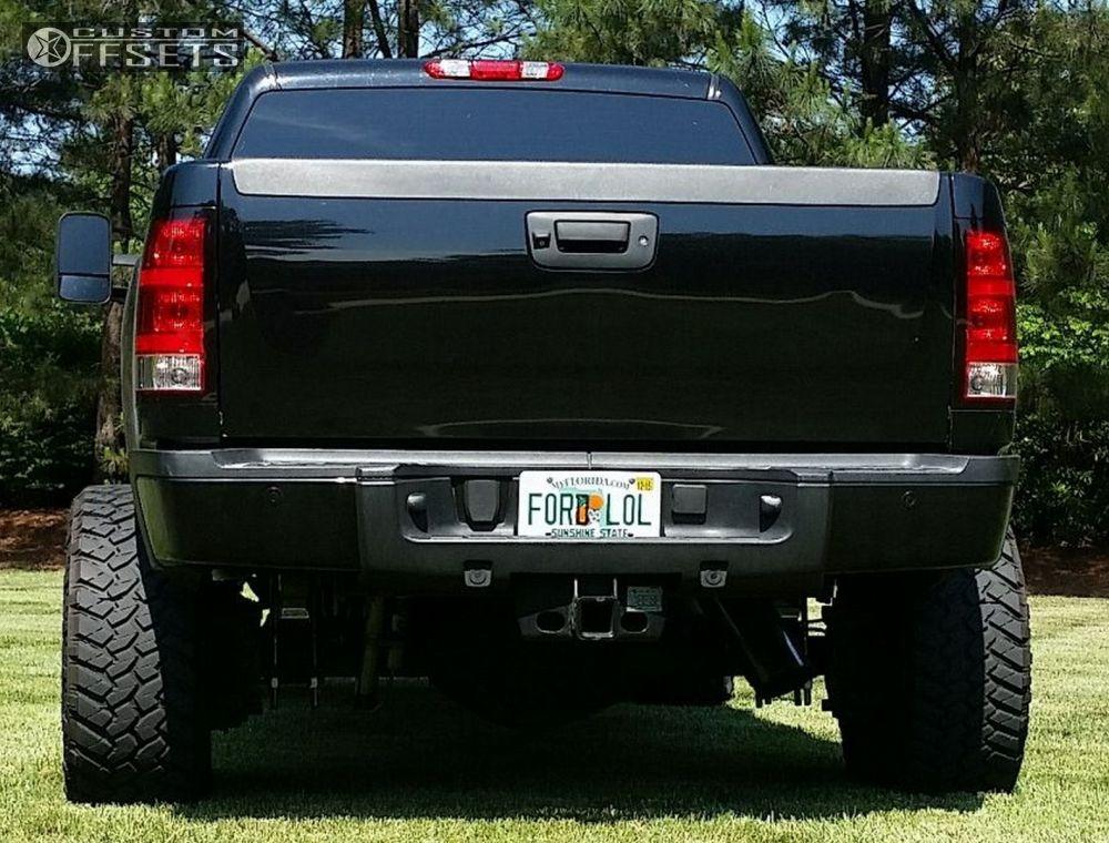 2011 gmc sierra 2500 hd fuel octane zone suspension lift 5in. Black Bedroom Furniture Sets. Home Design Ideas