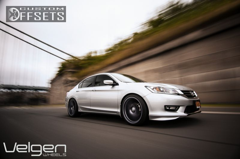 2013 Honda Accord Velgen Wheels Vmb5 Lowered On Springs