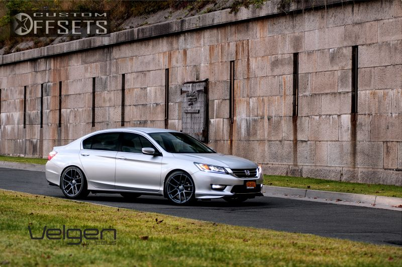 Super 2013 Honda Accord Velgen Vmb5 Lowered On Springs | Custom Offsets TB-84