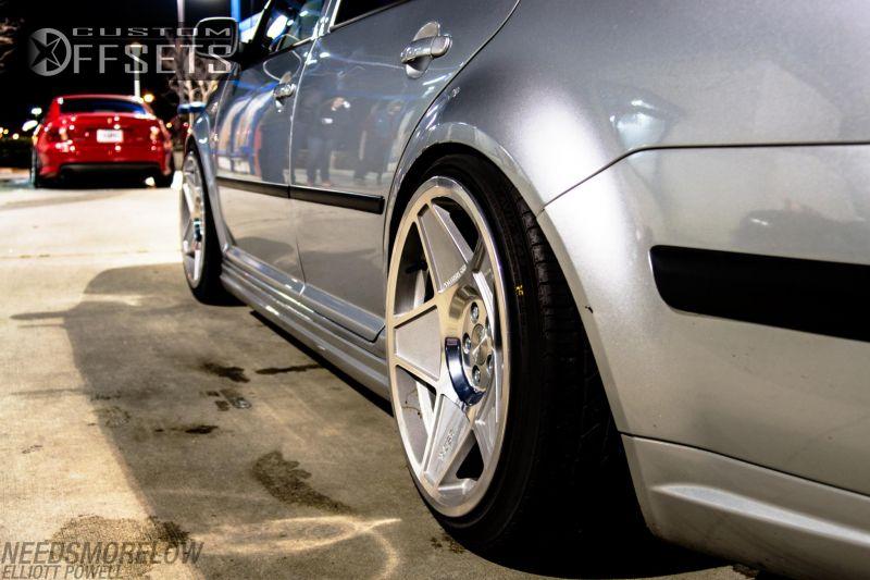 Wheel Offset 2002 Volkswagen Jetta Hellaflush Dropped 3 Custom Rims Custom Offsets