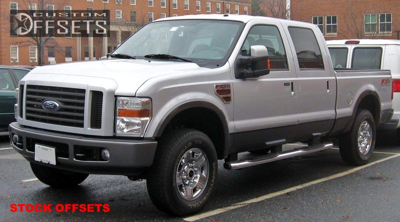 1 2005 2010 F 350 Super Duty Ford Stock Stock Stock Chrome Tucked