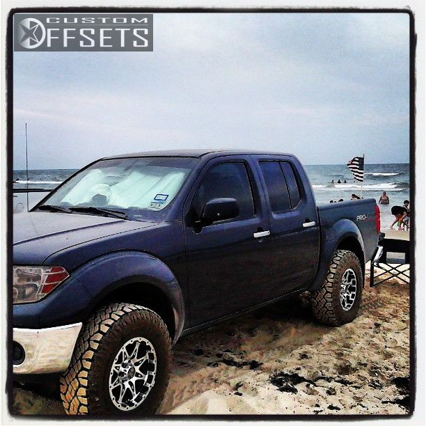 Wheel Offset 2010 Nissan Frontier Slightly Aggressive Body ...