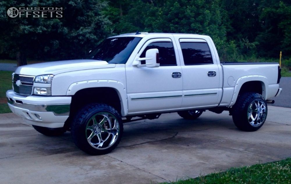 1 2006 Silverado 1500 Chevrolet Suspension Lift 6 Hostile Exile Chrome Super Aggressive 3 5