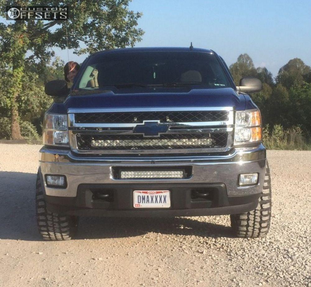 2013 Chevrolet Silverado 2500 Hd Fuel Maverick Leveling