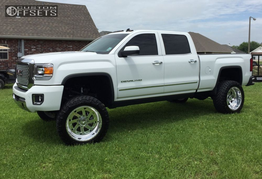 1 2015 Sierra 2500 Hd Gmc Suspension Lift 7 American Force Ghost Polished Super Aggressive 3 5