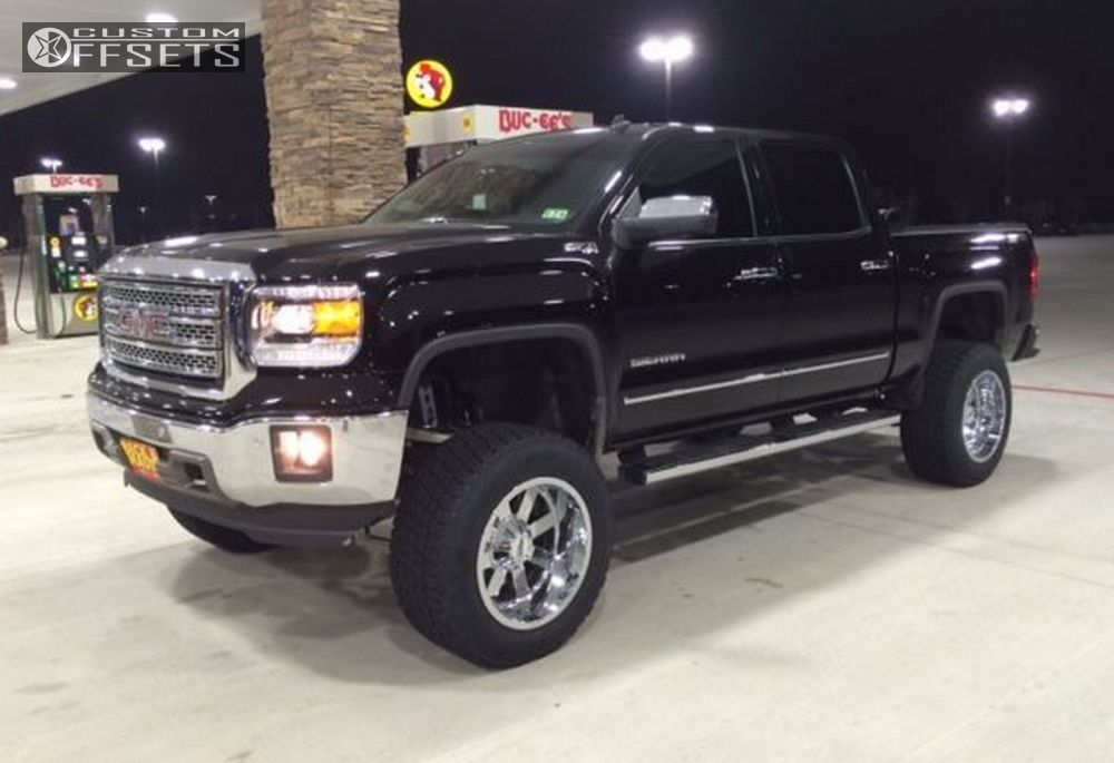 2014 Gmc Sierra With 20x12 44 Offset Wheels Html Autos Post