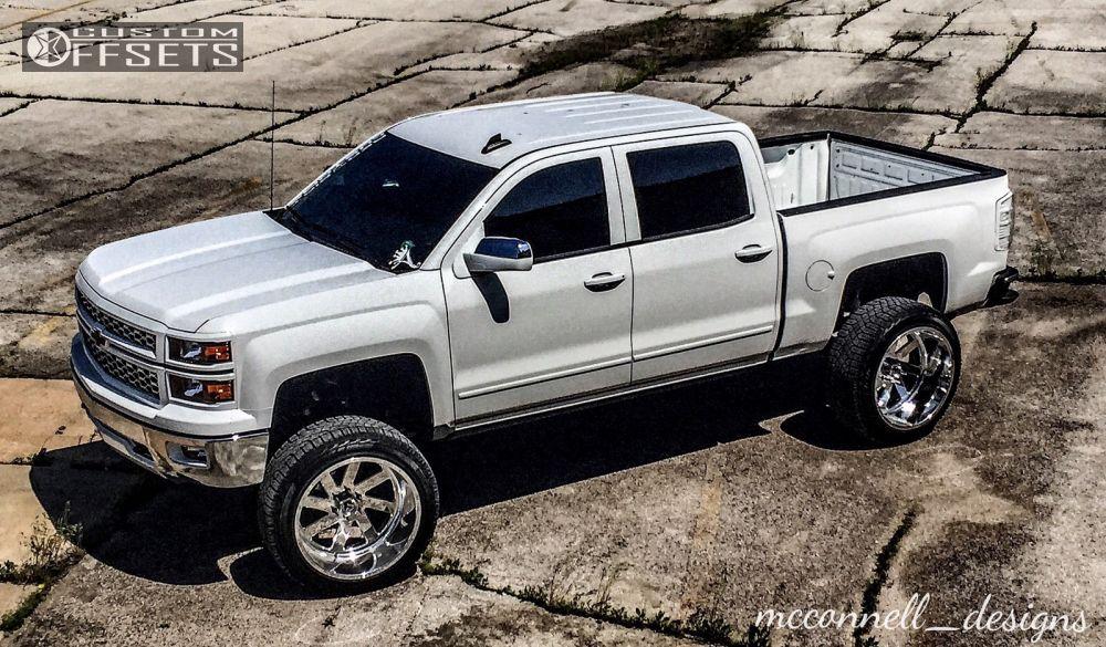 2015 Chevrolet Silverado 1500 Fuel Ff02 Mcgaughys Suspension Lift 9in
